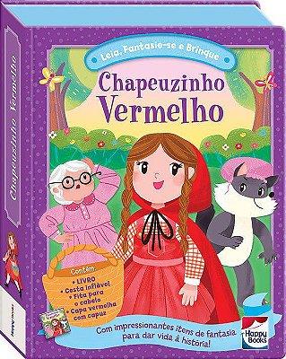 Livro - Fazendo A Festa - Chapeuzinho Vermelho - Fantasia