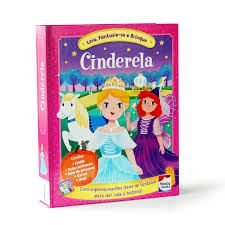 Livro - Fazendo A Festa - Cinderela - Fantasia