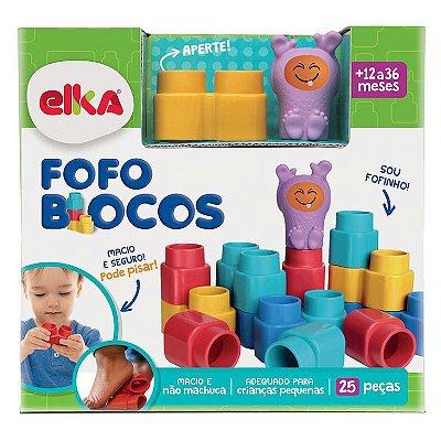 Fofo Blocos 25 Peças-Elka