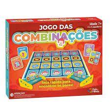 Jogo de Tabuleiro - Jogo Das Combinações