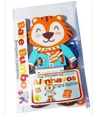 Alinhavo - Meus Primeiros Alinhavos - Tigre Fashion