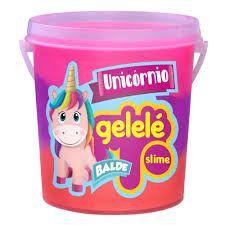 Balde Gelelé -Slime - Unicornio