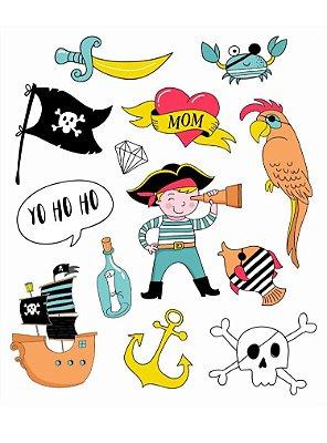 Tatuagem Temporária - Pirata