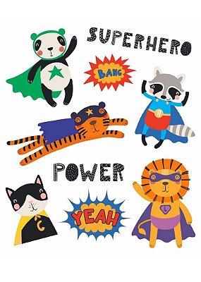 Tatuagem Temporária - Super Heróis