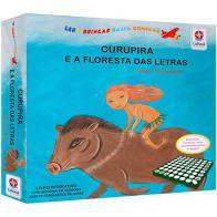 Livro - Caça Palavras - Curupira e a  Floresta das Estrelas - Letras