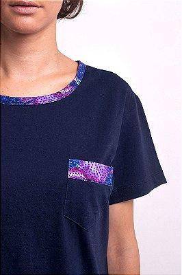 Camiseta Lazuli Trapezia