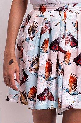 Shorts-Saia Celeste Colaptes