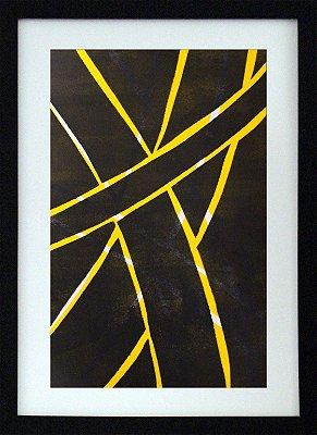 Geométrico amarelo e preto 01