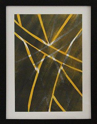 Geométrico amarelo e preto 02