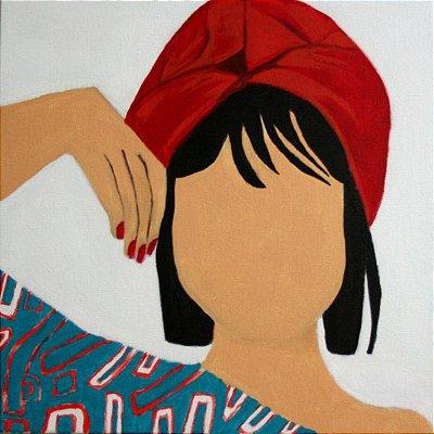 Mulher com turbante
