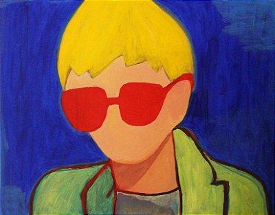 Quadro | Óculos vermelhos