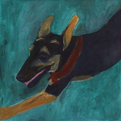 Quadro | Série Pagu | Cachorro 03