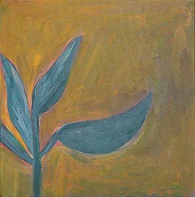 Quadro | Folhas verdes