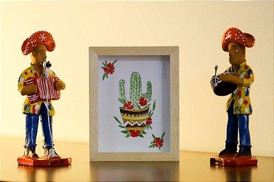 Quadro | Aquarela | Cacto mexicano