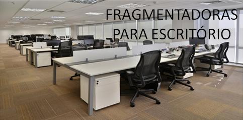 Mini-Banner-Fragmentadoras para Escritório