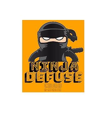 Adesivo Ninja Defuse CSGO