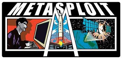 Adesivo Metasploit