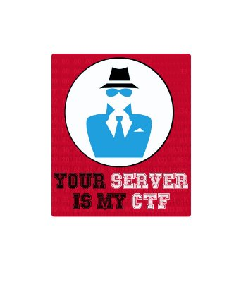 Adesivo Your Server Is My CTF