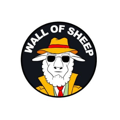 Adesivo Hacker Wall Of Sheep