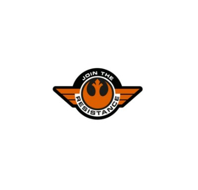Adesivo Star Wars Join The Resistance Alliance