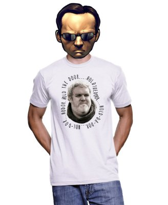 Camiseta Game of Thrones - Hold the door holdthedoor hodor