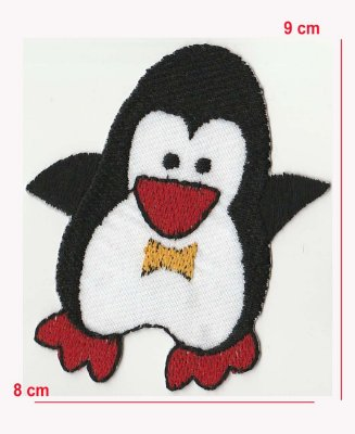 Patch Pinguim Vermelho