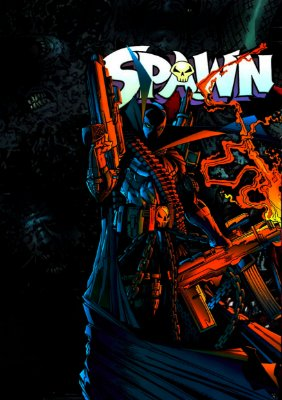 Poster Decorativo Spawn Soldado do inferno