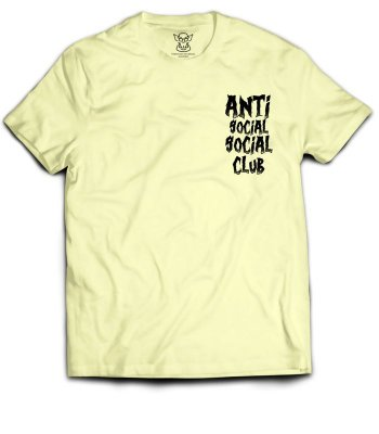 Camiseta Anti Social Social Club