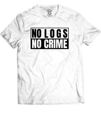 Camiseta Hacker No Logs No Crime