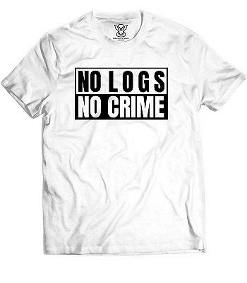 Camiseta Hacker No Logs No Crime