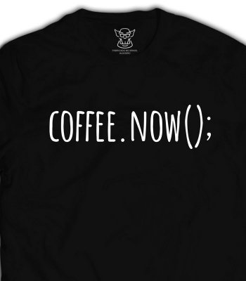 Camiseta Coffee.Now