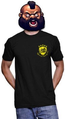 Camiseta H4x0r -Aggressive Hacking Club