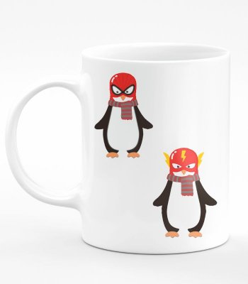 Caneca Linux Not All Heroes Wear Masks