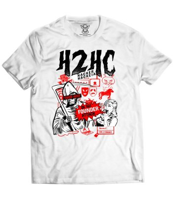 Camiseta H2HC - Founder Attack