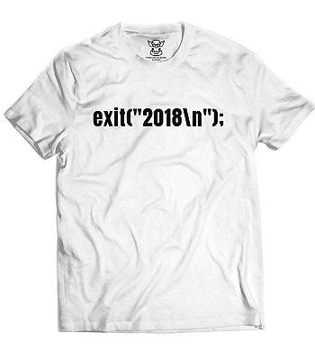 Camiseta Comemorativa Final de Ano 2018