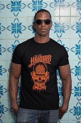 Camiseta Hacker Caveira Hax0rs
