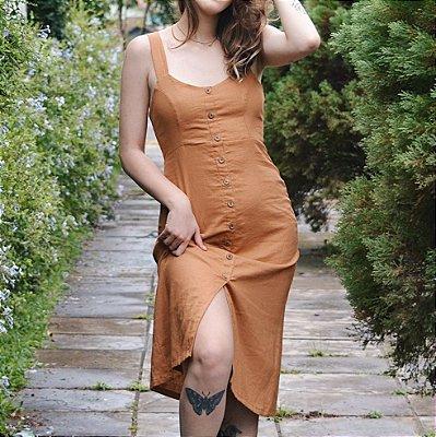 Vestido Dandara Caramelo