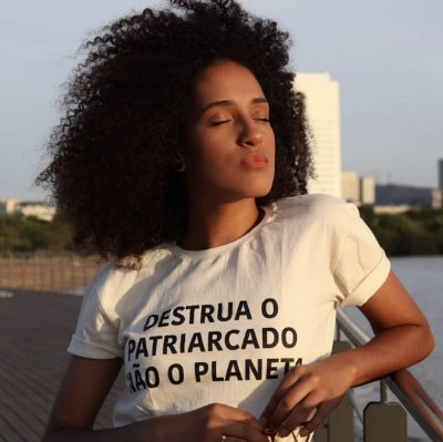 Camiseta Patriarcado Off-white