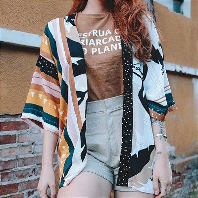 Kimono Marielle Assimétrico