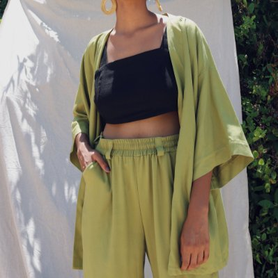 Kimono Marielle Abacate