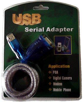 Cabo conversor USBxDB09M 1.5 MT