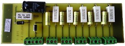 Placa com 6 Extintor de Arco AEXT