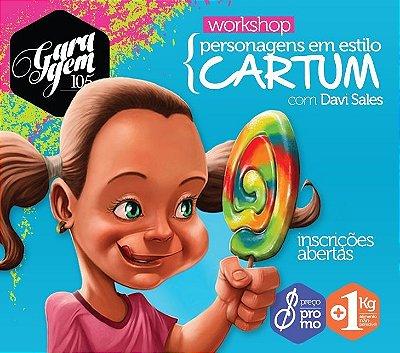 Workshop { Personagens em estilo Cartum para o mercado publicitário  - com Davi Sales