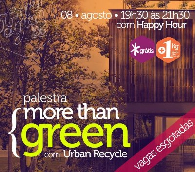 Palestra { More Than green -  Urban Recycle