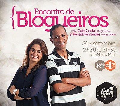 Palestra - Encontro de blogueiros
