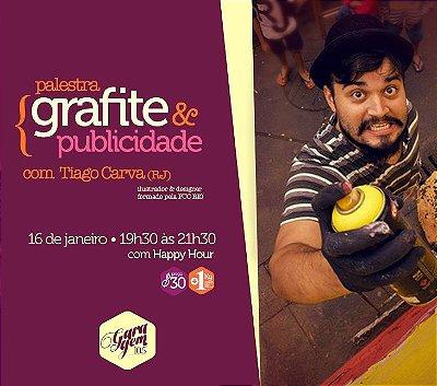 Palestra { Grafite e Publicidade - Tiago Carva