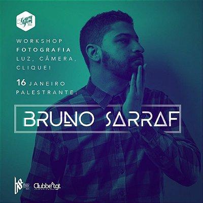 Workshop { Luz. câmera. clique! com Bruno Sarraf