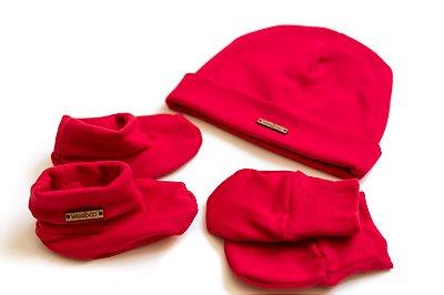 Kit 3 peças RN vermelho