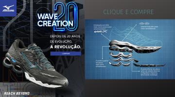 Mizuno Wave Creation 20