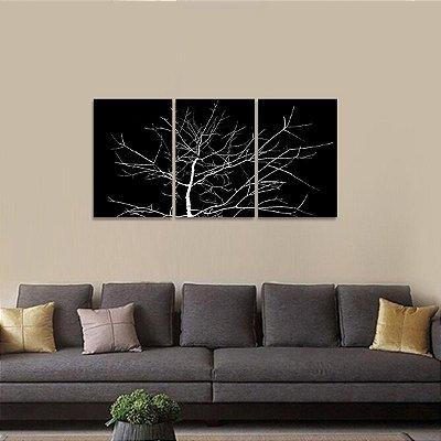 Quadro Abstrato Intense Árvore Galhos Secos